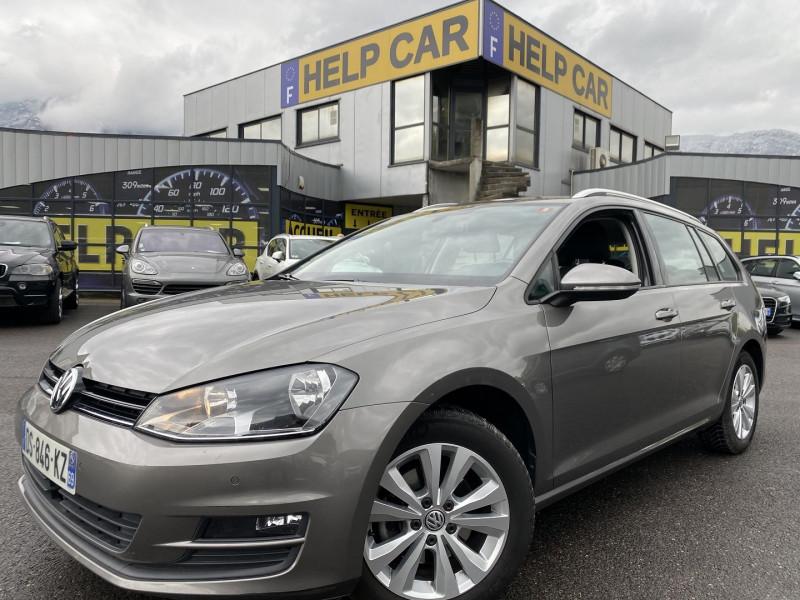 Volkswagen GOLF VII SW 2.0 TDI 150CH BLUEMOTION TECHNOLOGY FAP CONFORTLINE Diesel GRIS F Occasion à vendre