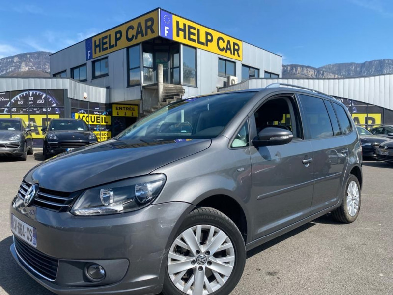 Volkswagen TOURAN 2.0 TDI 140CH FAP LIFE Diesel GRIS F Occasion à vendre