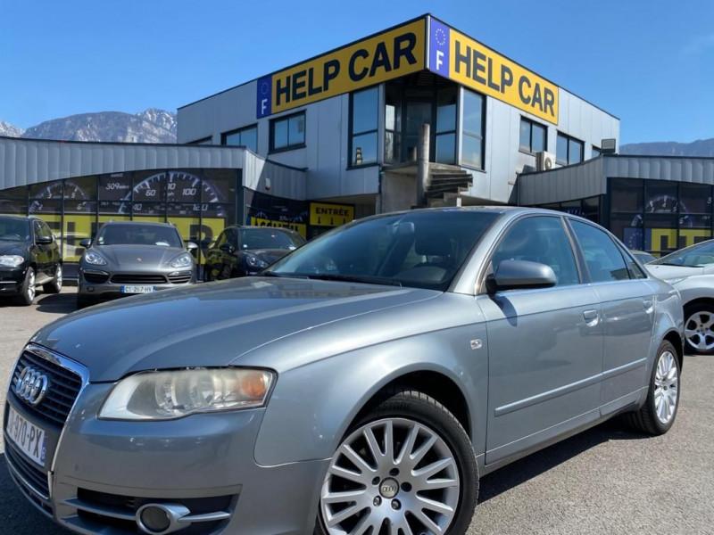 Audi A4 2.0 TDI 140CH DPF AMBITION LUXE QUATTRO Diesel GRIS C Occasion à vendre