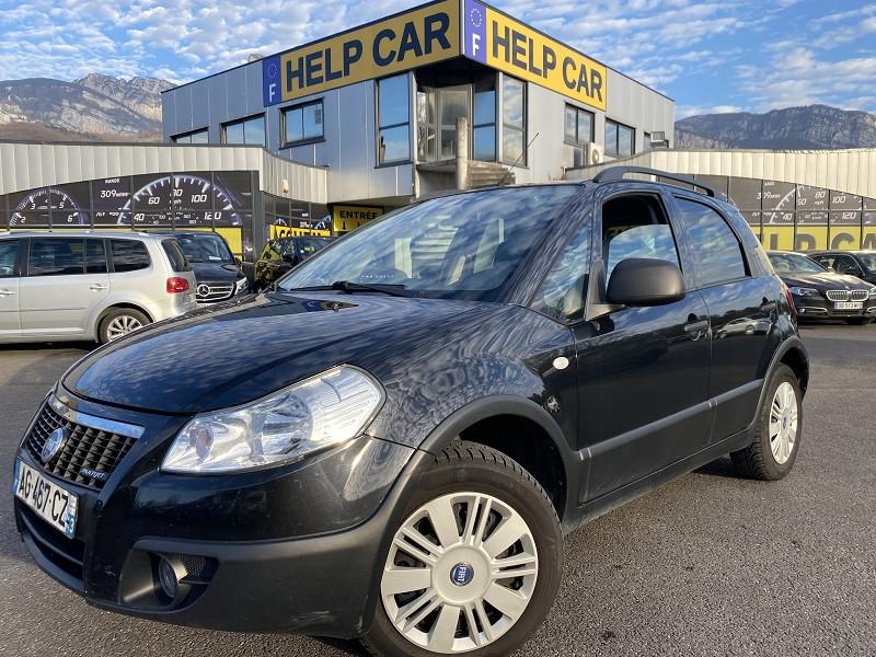 Fiat SEDICI 1.9 MULTIJET 8V 120CH DYNAMIC 4X4 5P Diesel NOIR Occasion à vendre