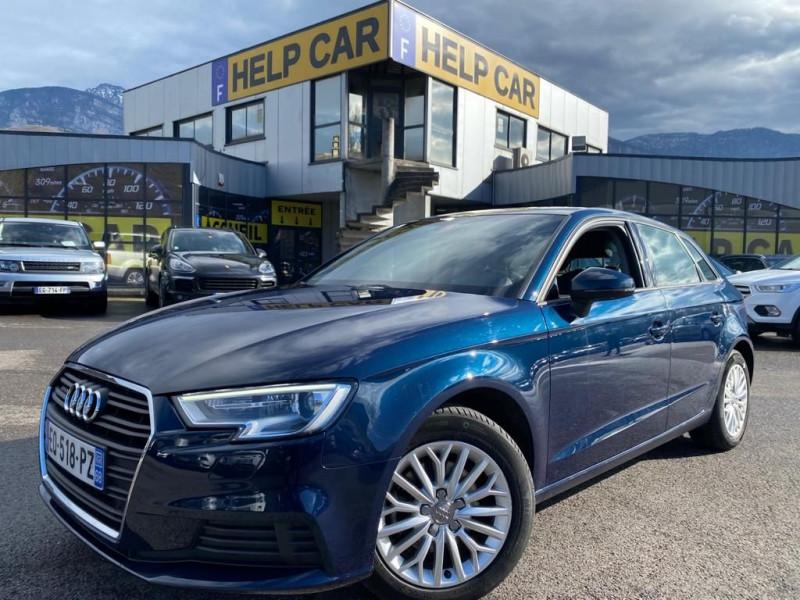 Audi A3 SPORTBACK 2.0 TDI 150CH FAP BUSINESS LINE QUATTRO Diesel BLEU F Occasion à vendre
