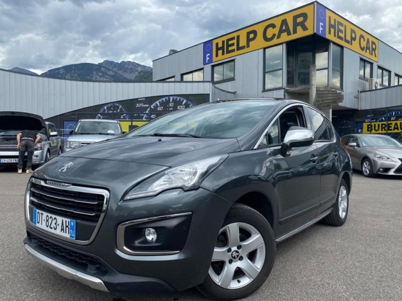 Peugeot 3008 1.6 BLUEHDI 120CH ALLURE S&S EAT6 Diesel GRIS F Occasion à vendre