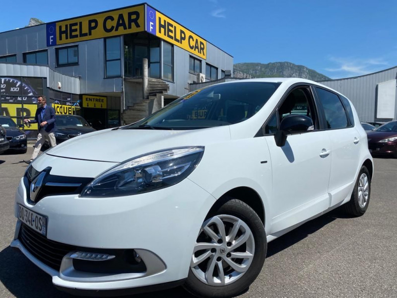 Renault SCENIC III 1.5 DCI 110CH LIMITED 2015 Diesel BLANC Occasion à vendre