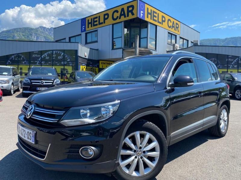 Volkswagen TIGUAN 2.0 TDI 140CH BLUEMOTION TECHNOLOGY FAP SPORTLINE BUSINESS Diesel NOIR Occasion à vendre