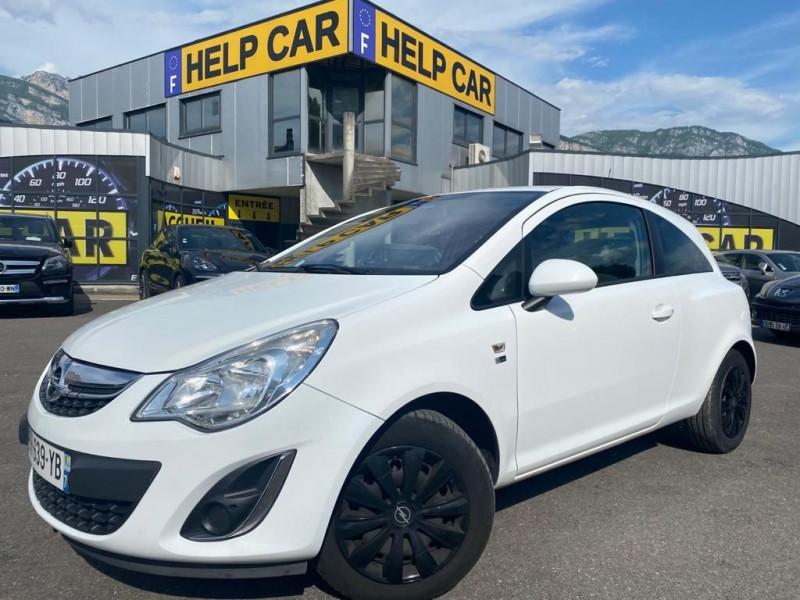 Opel CORSA 1.3 CDTI75 FAP 150EME ANNIVERSAIRE 3P Diesel BLANC Occasion à vendre