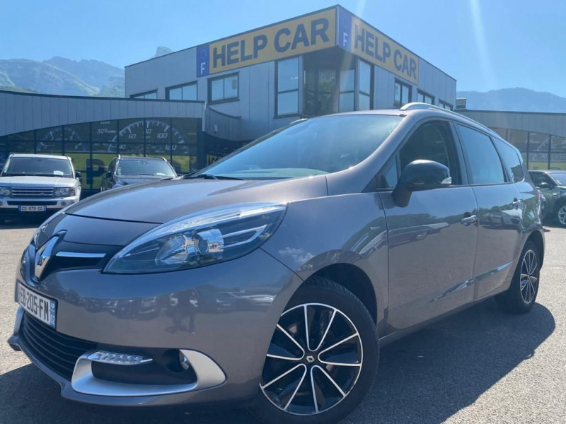 Renault GRAND SCENIC III 1.5 DCI 110CH ENERGY LIFE ECO² EURO6 7 PLACES 2015 Diesel GRIS Occasion à vendre