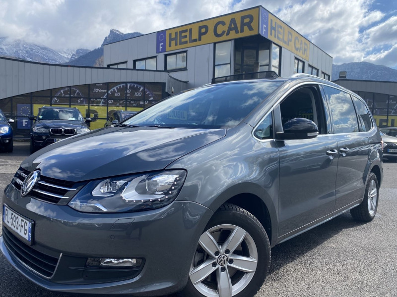 Volkswagen SHARAN 2.0 TDI 150CH BLUEMOTION 7PL IQ.DRIVE DSG6 EURO6D-T Diesel GRIS F Occasion à vendre