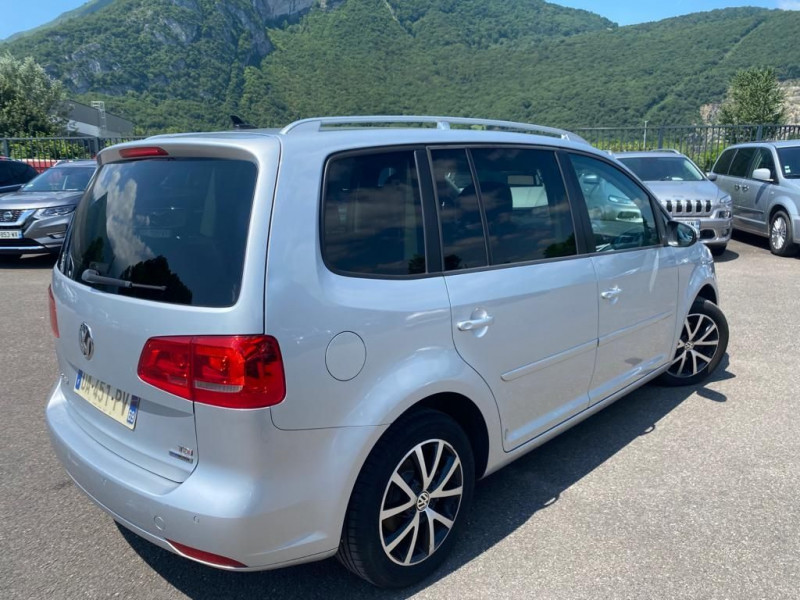 Volkswagen TOURAN 1.6 TDI 105CH BLUEMOTION TECHNOLOGY FAP CONFORTLINE BUSINESS DSG7 Diesel GRIS C Occasion à vendre