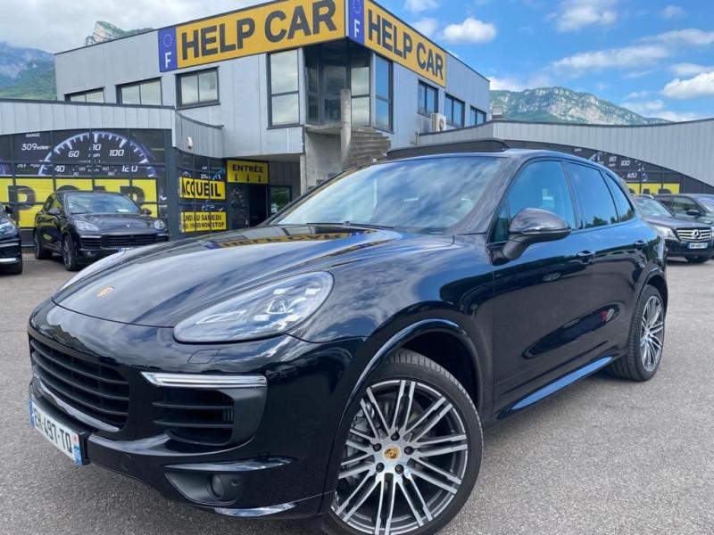 Porsche CAYENNE (958) 4.2 385CH S DIESEL Diesel NOIR Occasion à vendre