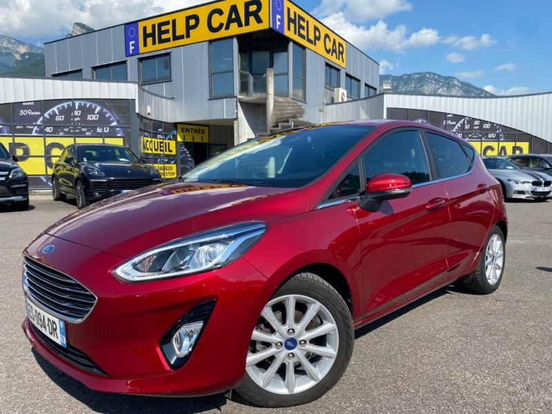 Ford FIESTA 1.0 ECOBOOST 100CH STOP&START BUSINESS NAV 5P Essence ROUGE Occasion à vendre