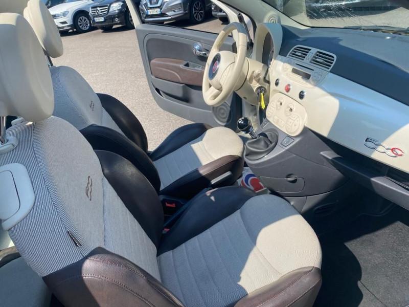 Photo 4 de l'offre de FIAT 500C 1.2 8V 69CH S&S POP à 9490€ chez Help car