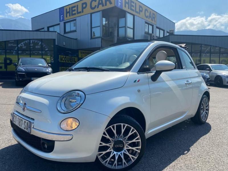 Fiat 500C 1.2 8V 69CH S&S POP Essence BLANC Occasion à vendre