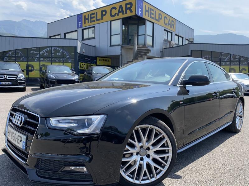 Audi A5 SPORTBACK 2.0 TDI 150CH CLEAN DIESEL S LINE MULTITRONIC EURO6 Diesel NOIR Occasion à vendre