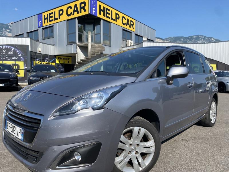 Peugeot 5008 1.6 BLUEHDI 120CH ALLURE S&S EAT6 Diesel GRIS C Occasion à vendre