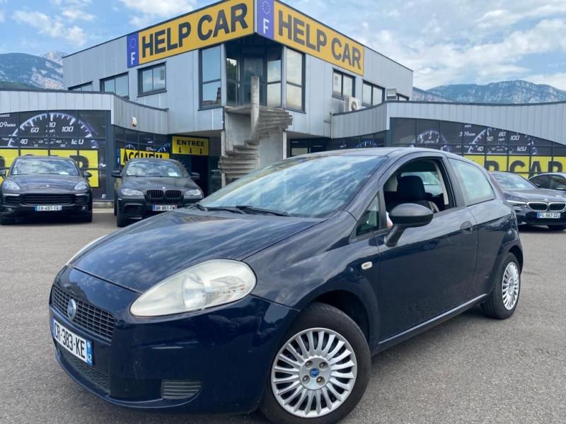 Fiat GRANDE PUNTO 1.2 8V 65CH ACTIVE 3P Essence BLEU F Occasion à vendre
