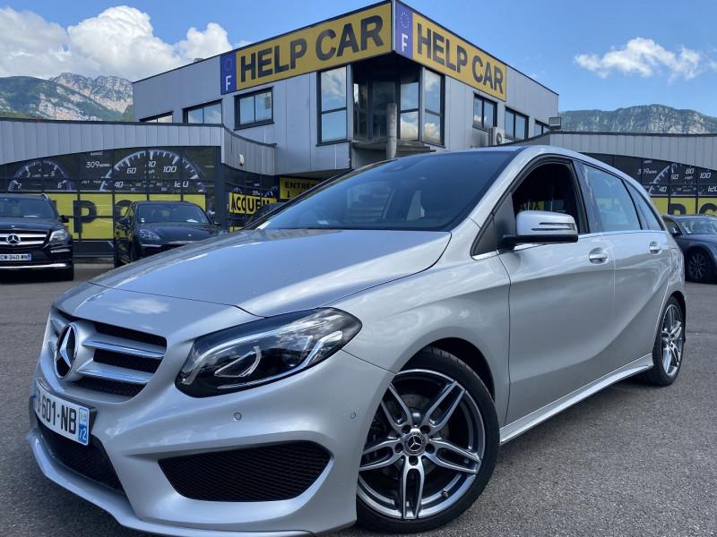 Mercedes-Benz CLASSE B (W246) 180 122CH FASCINATION 7G-DCT Essence GRIS C Occasion à vendre
