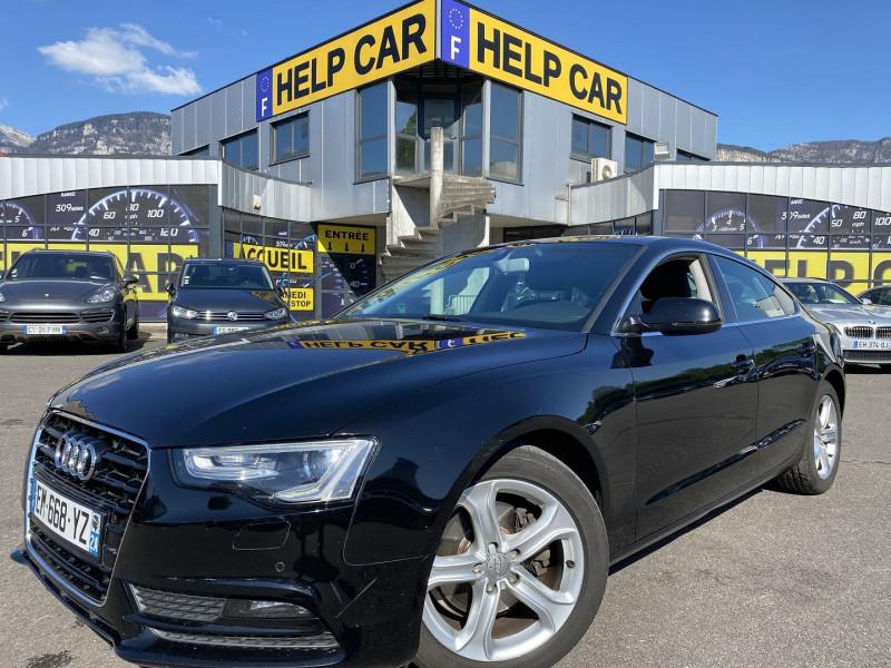 Audi A5 SPORTBACK 2.0 TDI 177CH S LINE Diesel NOIR Occasion à vendre