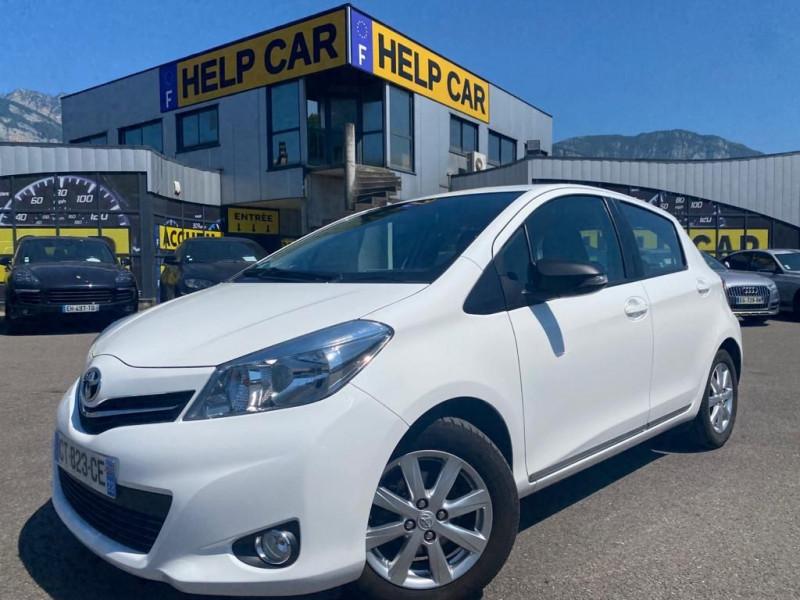 Toyota YARIS 69 VVT-I ACTIVE 5P Essence BLANC Occasion à vendre