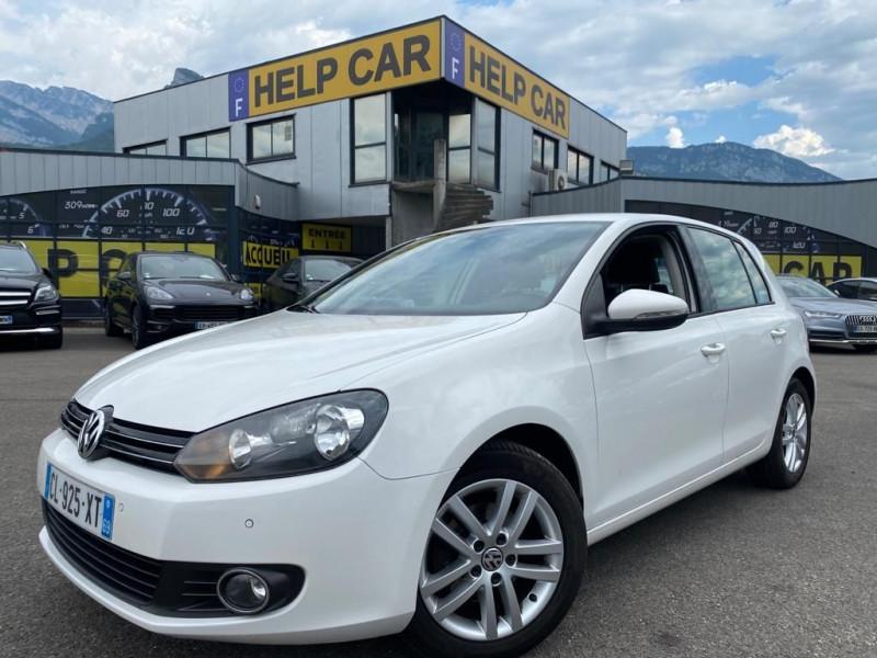 Volkswagen GOLF VI 1.6 TDI 105CH BLUEMOTION FAP CONFORTLINE 5P Diesel BLANC Occasion à vendre