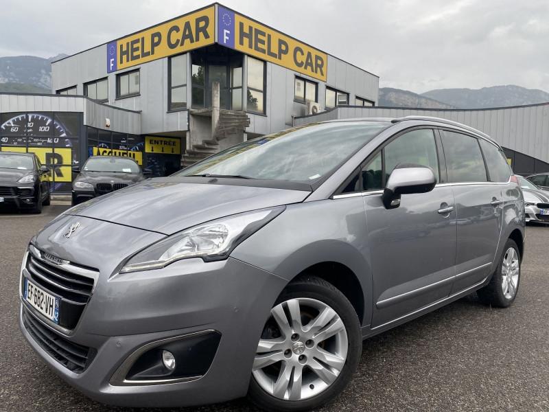 Peugeot 5008 1.6 BLUEHDI 120CH ALLURE S&S EAT6 7PL Diesel GRIS C Occasion à vendre