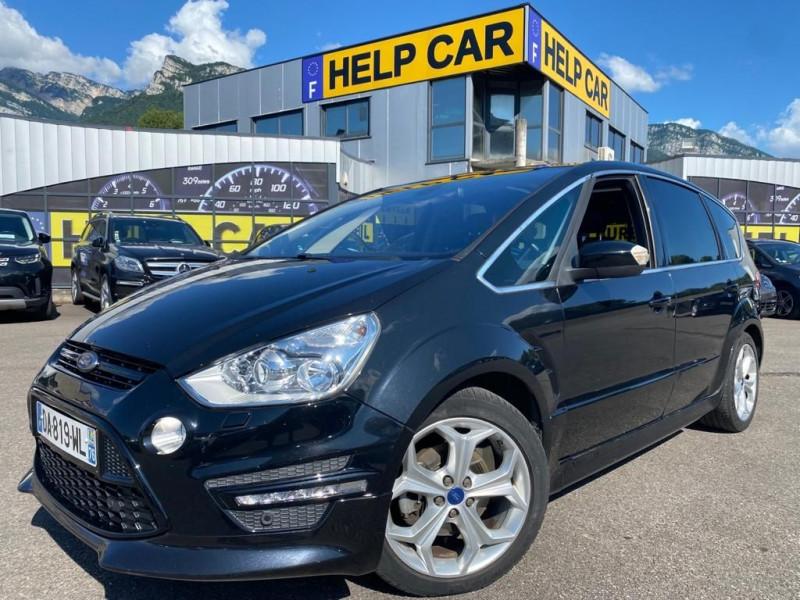 Ford S-MAX 2.0 TDCI 163CH FAP SPORT PLATINIUM GPS 7 PLACES Diesel NOIR Occasion à vendre