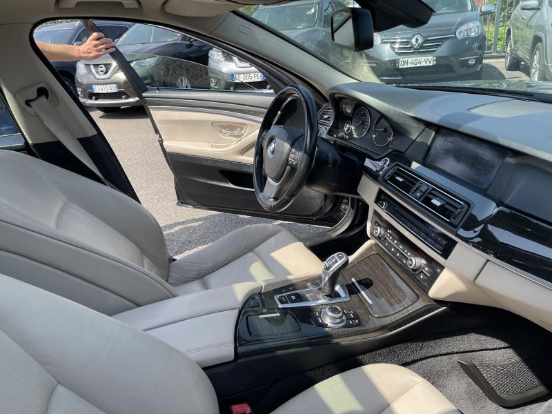 Photo 6 de l'offre de BMW SERIE 5 (F10) 535DA XDRIVE 313CH LUXE à 18990€ chez Help car