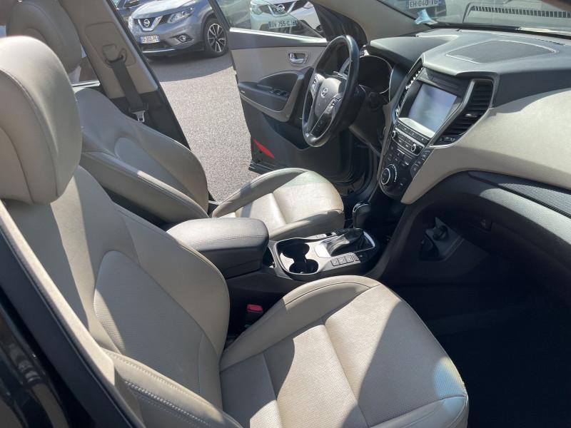 Photo 4 de l'offre de HYUNDAI SANTA FE 2.2 CRDI 200CH EXECUTIVE BVA 7 PLACES à 22990€ chez Help car