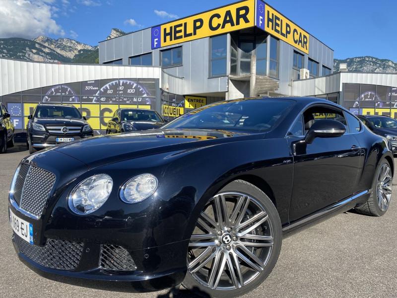 Bentley CONTINENTAL GT W12 6.0 SPEED Essence NOIR Occasion à vendre