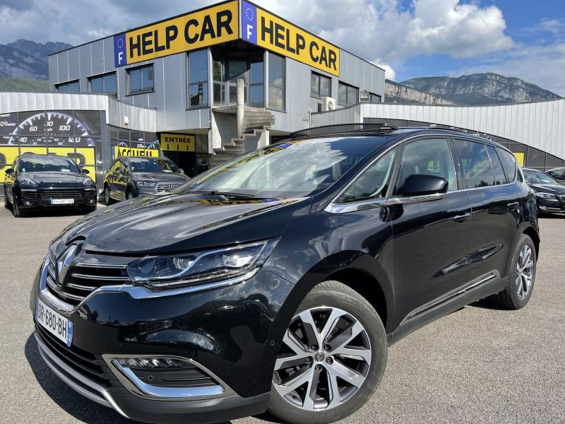 Renault ESPACE V 1.6 DCI 160CH ENERGY INTENS EDC 7 PLACES Diesel NOIR Occasion à vendre