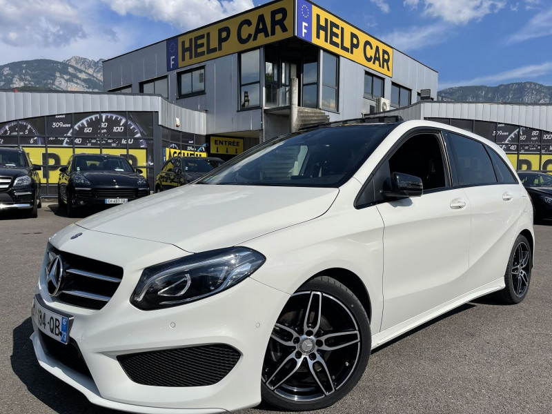 Mercedes-Benz CLASSE B (W246) 200D 136CH FASCINATION 7G-DCT Diesel BLANC Occasion à vendre
