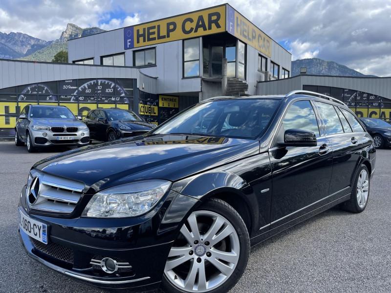 Mercedes-Benz CLASSE C BREAK (S204) 180 CDI BE AVANTGARDE PACK LUXE Diesel NOIR Occasion à vendre