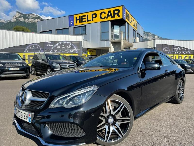 Mercedes-Benz CLASSE E COUPE (C207) 350 BLUETEC FASCINATION 7GTRONIC+ Diesel NOIR Occasion à vendre
