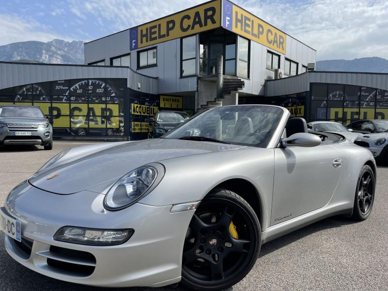 Porsche 911 CABRIOLET (997) CARRERA 4 Essence GRIS C Occasion à vendre