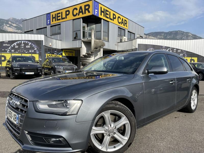 Audi A4 AVANT 2.0 TDI 177CH DPF AMBITION LUXE MULTITRONIC QUATTRO Diesel GRIS Occasion à vendre
