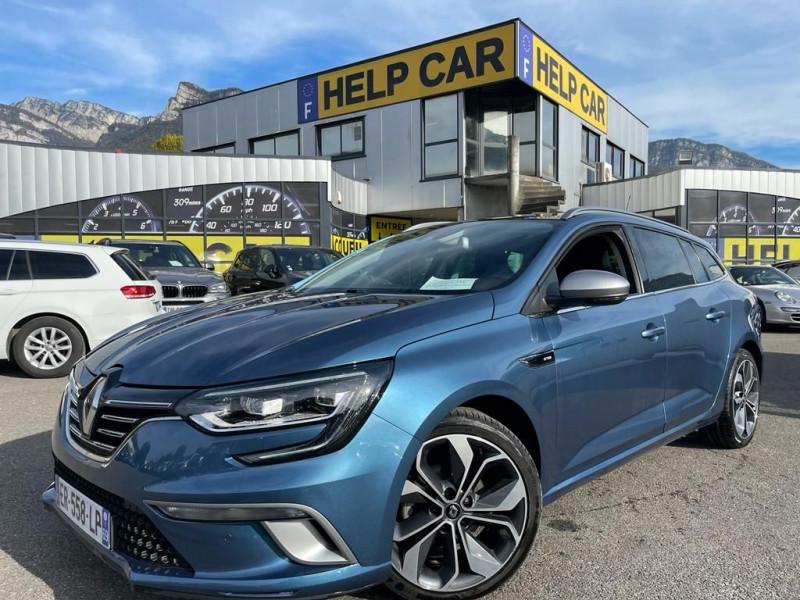 Renault MEGANE IV ESTATE 1.2 TCE 130CH GT LINE EDC Essence BLEU F Occasion à vendre
