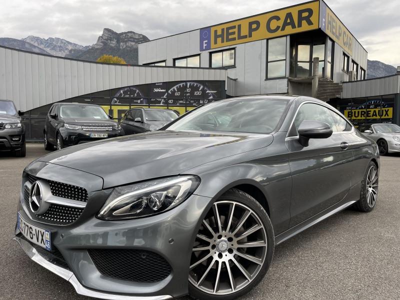 Mercedes-Benz CLASSE C COUPE (C205) 220 D 170CH FASCINATION 9G-TRONIC Diesel GRIS Occasion à vendre