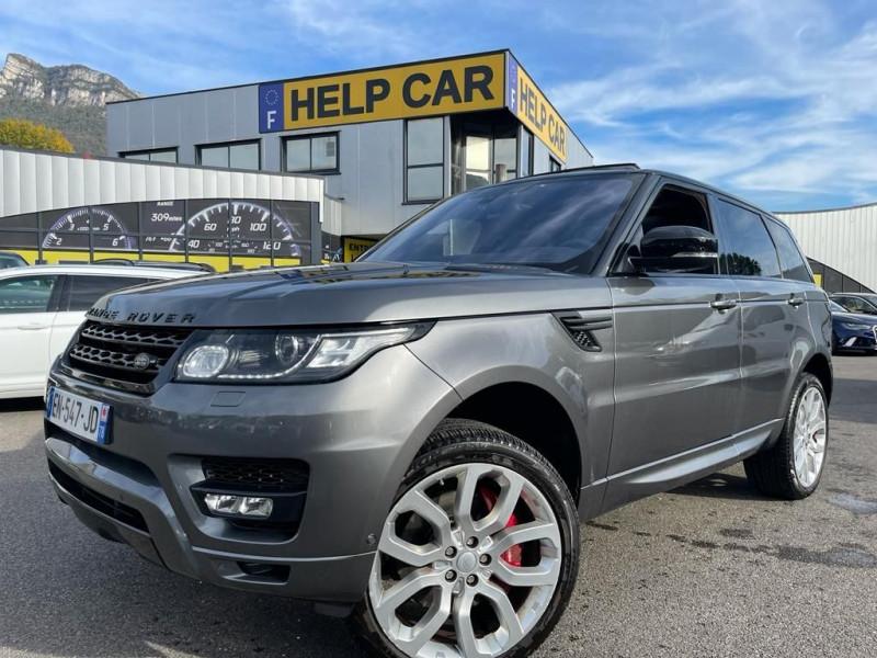 Land-Rover RANGE ROVER SPORT 3.0 SDV6 HYBRIDE 354CH AUTOBIOGRAPHY DYNAMIC MARK V Hybride GRIS Occasion à vendre