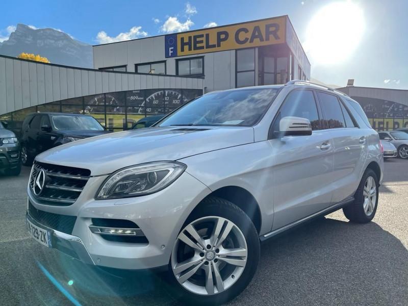 Mercedes-Benz CLASSE ML (W166) 350 BLUETEC SPORT 7G-TRONIC + Diesel GRIS C Occasion à vendre