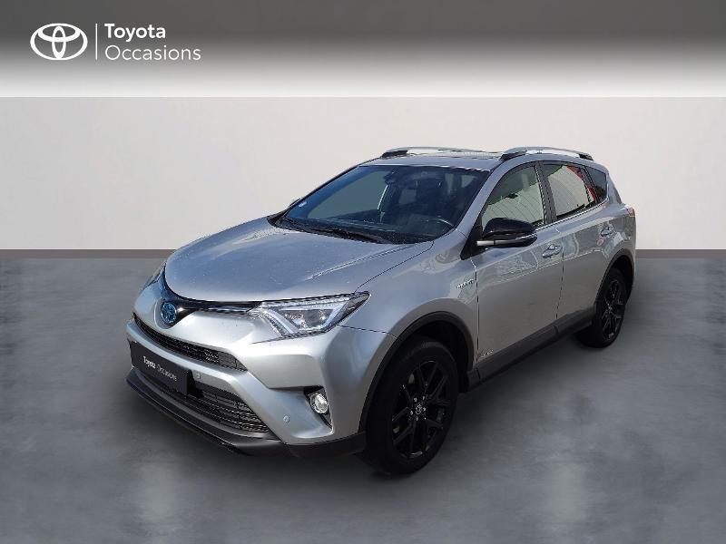 Toyota RAV4 197 Hybride Black Edition 2WD CVT Hybride Gris Clair Occasion à vendre
