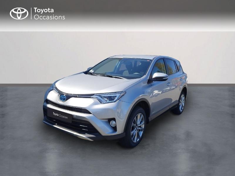 Toyota RAV4 197 Hybride Dynamic Edition 2WD CVT Hybride Gris Clair Métal Occasion à vendre