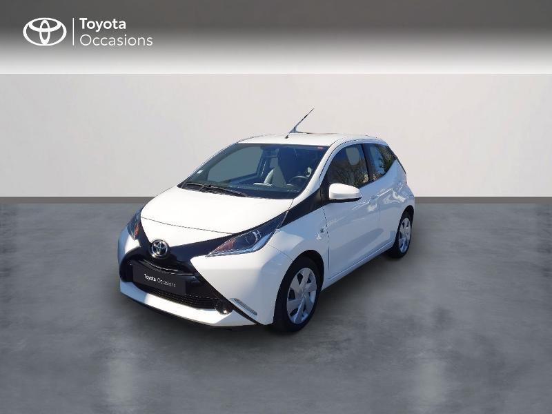 Toyota Aygo 1.0 VVT-i 69ch x-play x-shift 5p Essence blanc Occasion à vendre