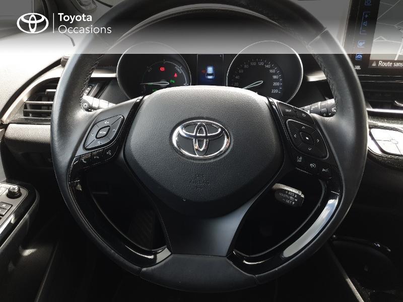 Photo 8 de l'offre de TOYOTA C-HR 122h Distinctive 2WD E-CVT à 18990€ chez Rizzon Auto - Toyota Lannion