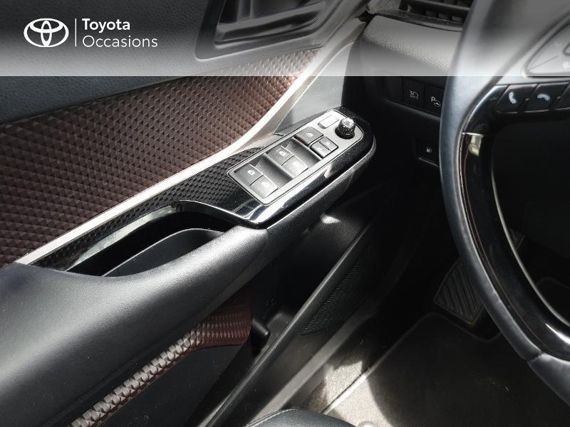 Photo 12 de l'offre de TOYOTA C-HR 122h Distinctive 2WD E-CVT à 18990€ chez Rizzon Auto - Toyota Lannion