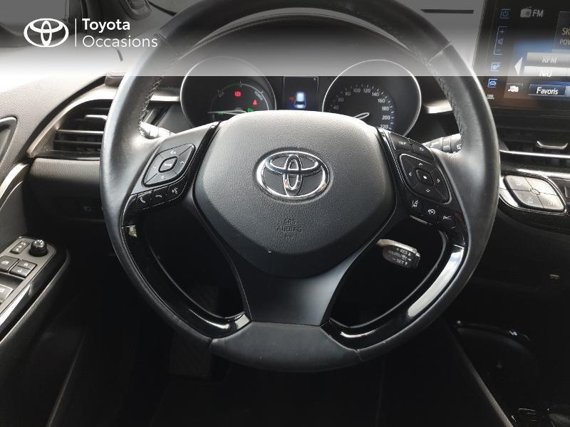 Photo 6 de l'offre de TOYOTA C-HR 122h Distinctive 2WD E-CVT à 18990€ chez Rizzon Auto - Toyota Lannion