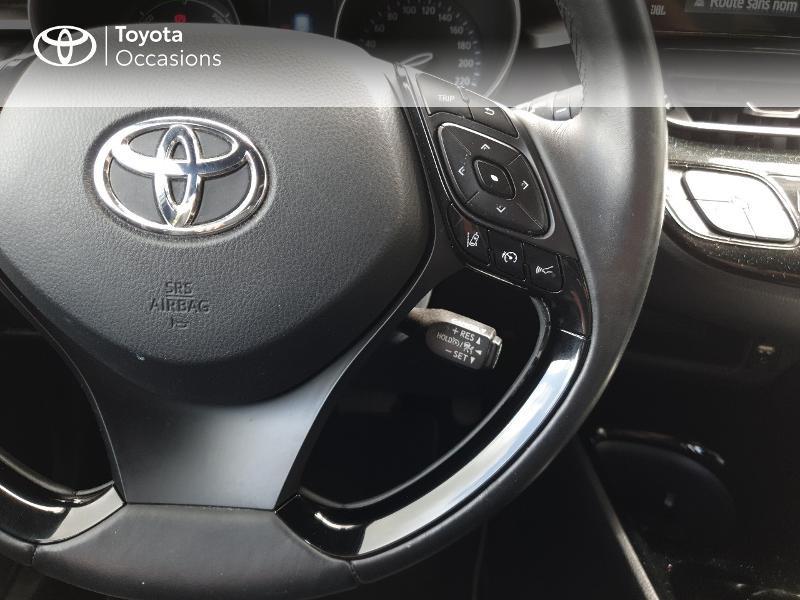 Photo 10 de l'offre de TOYOTA C-HR 122h Distinctive 2WD E-CVT à 18990€ chez Rizzon Auto - Toyota Lannion