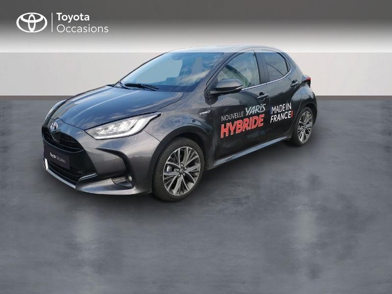 Toyota Yaris 116h Iconic Tech Navi 5p Hybride Gris Foncé Occasion à vendre