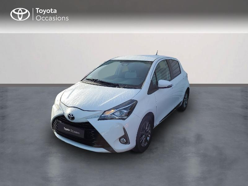 Toyota Yaris 70 VVT-i Dynamic 5p RC18 Essence BLANC Occasion à vendre
