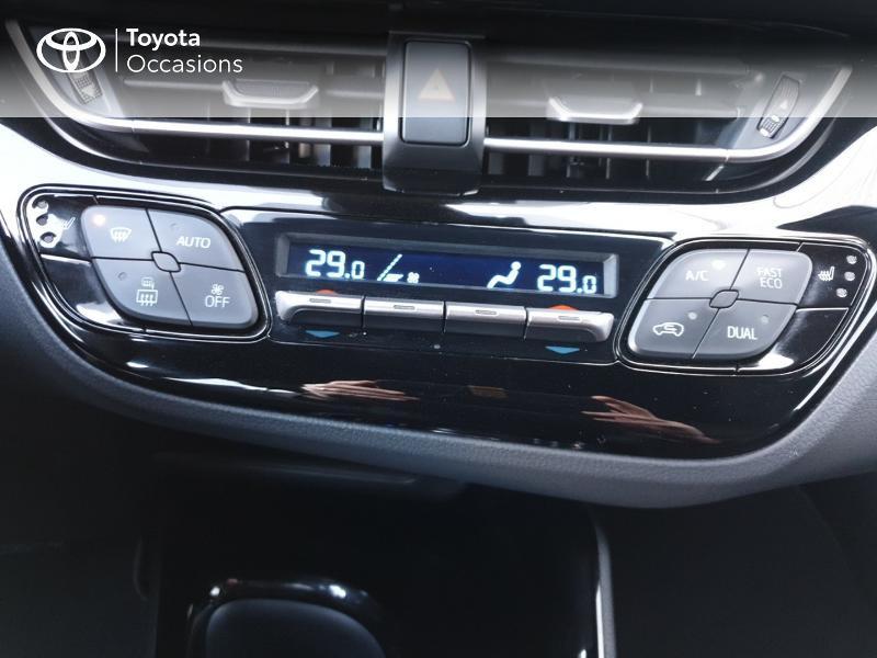 Photo 11 de l'offre de TOYOTA C-HR 122h Edition 2WD E-CVT RC18 à 22980€ chez Rizzon Auto - Toyota Guingamp