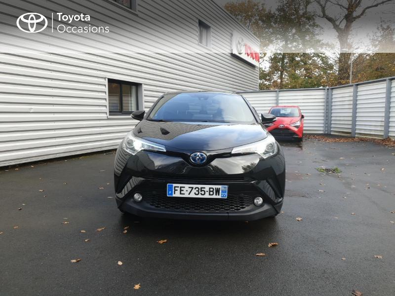 Photo 5 de l'offre de TOYOTA C-HR 122h Edition 2WD E-CVT RC18 à 21990€ chez Rizzon Auto - Toyota Guingamp