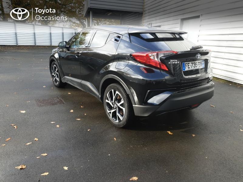 Photo 2 de l'offre de TOYOTA C-HR 122h Edition 2WD E-CVT RC18 à 21990€ chez Rizzon Auto - Toyota Guingamp